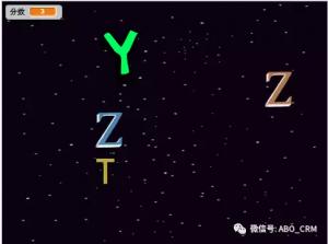 少儿编程Scratch第七讲:字母雨打字练习
