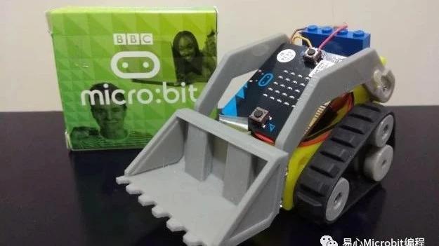 遥控车课程系列:App控制micro:bit小山貓自走车