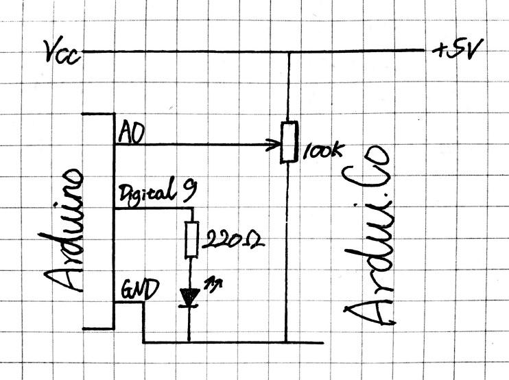 第5课 电位器连续调节LED亮度与ADC简介
