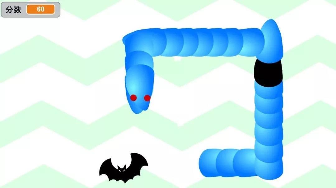 少儿编程Scratch第15讲:贪吃蛇