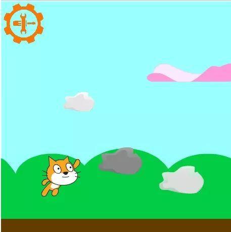 魔爪编程|Scratch 基础课(1)五彩的云朵