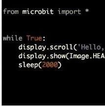 Microbit MicroPython 介绍