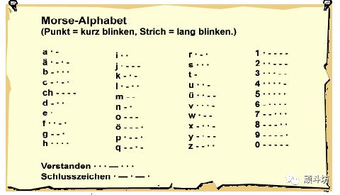 Scratch 数学计算第十二课 摩斯密码