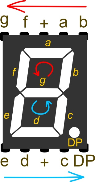 DFR0100 Arduino教程 17--数码管显示