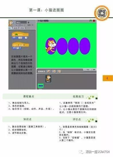 Scratch视频教程第一六七课 普惠课程第一等级教学建议