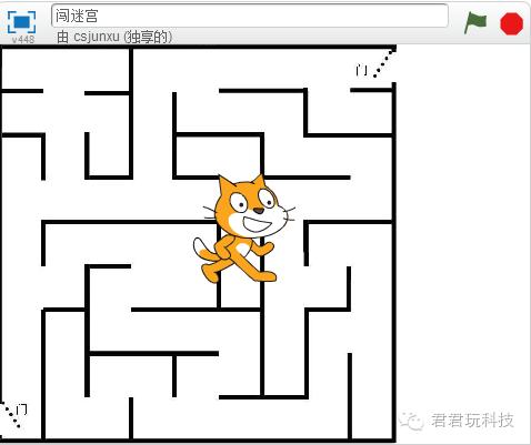 """我教""""孩子""""在10小时内精通Scratch-第8小时:闯迷宫上"""