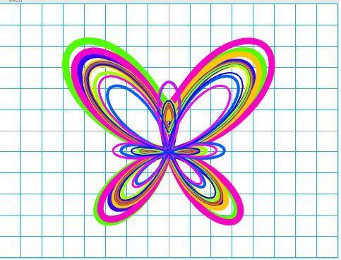 少儿创意编程(特8)数学之美-蝴蝶曲线
