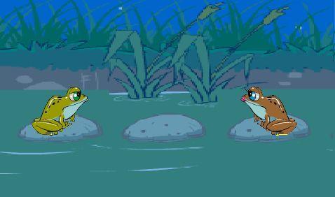 少儿创意编程(特3)青蛙跳