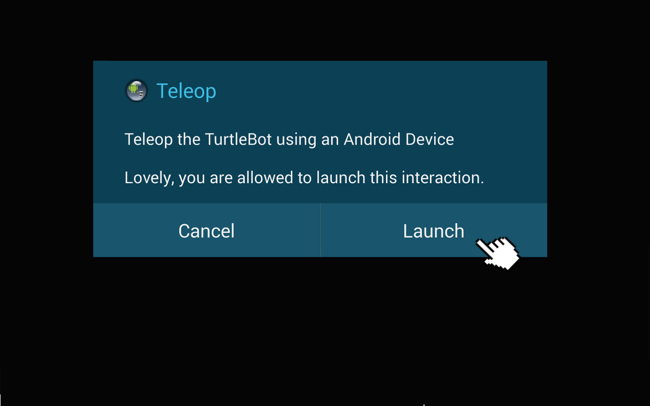 Turtlebot与Android-启动Android App