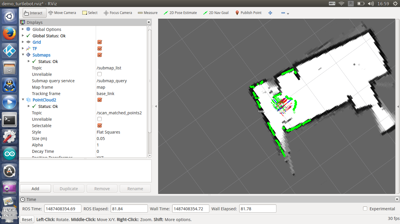 Turbot-SLAM入门教程-实现cartographer建图(Rplidar A2版) – 少儿编程教程网