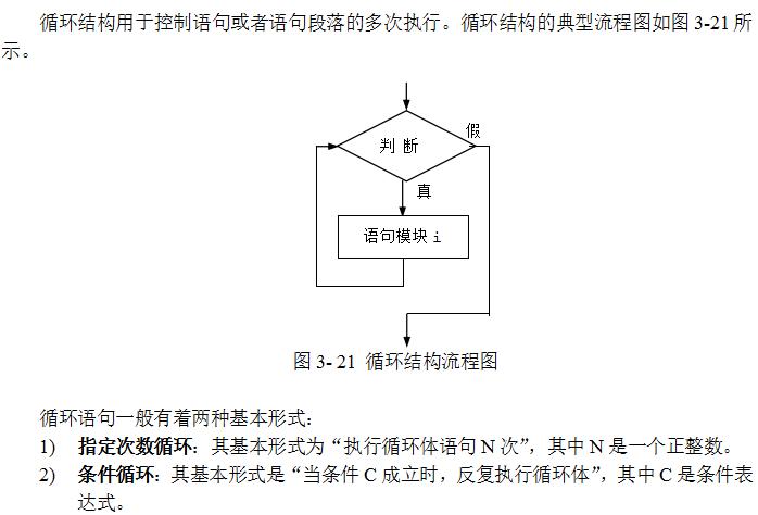 3.2.10 循环结构