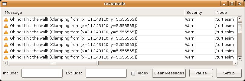 ROS入门教程-1 1 8 使用rxconsole 和roslaunch (ROS fuerte之前