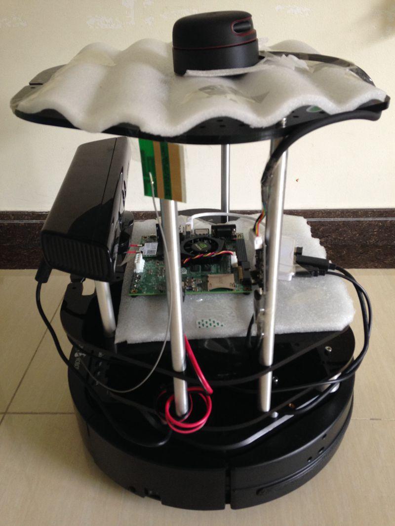 ROS套件-Turbot个人机器人套件(Turtlebot2定制版)