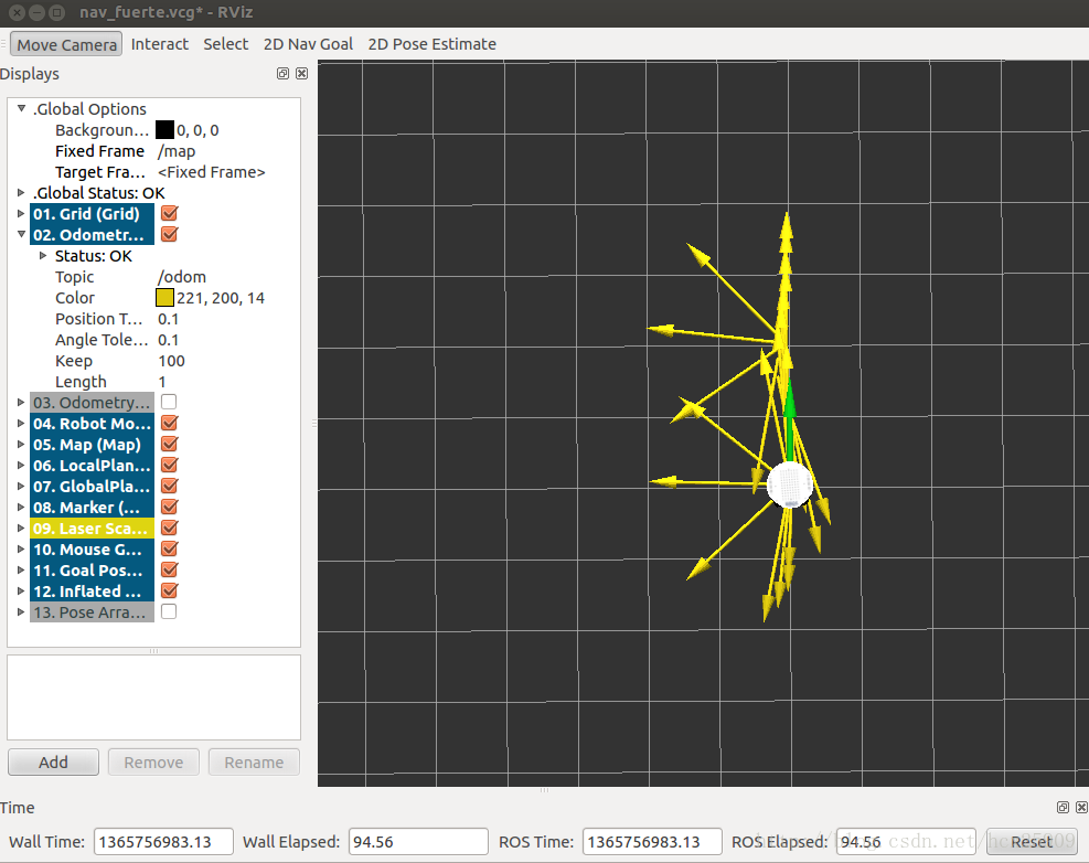 ROS探索总结-14.move_base(路径规划)