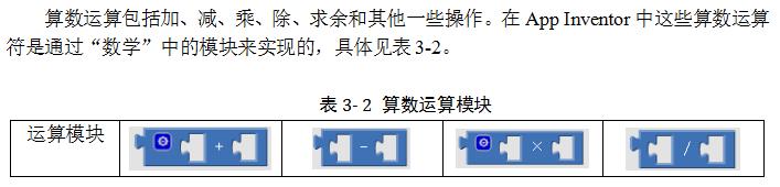3.2.4 算数运算