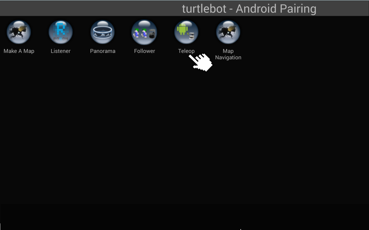 Turtlebot与Android-利用Make a Map App制作地图