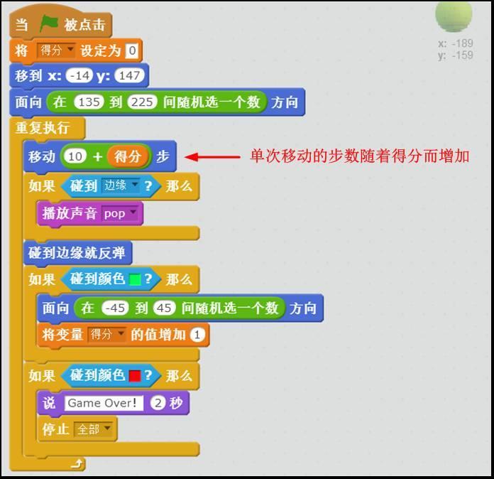 Scratch创意编程(三): 弹球游戏