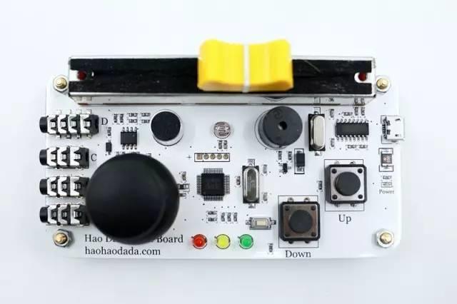 Scratch传感器板使用介绍