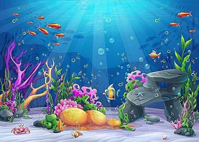趣味编程Scratch第八讲:海底世界鲨鱼来袭