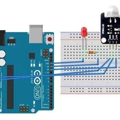 【Arduino教程】第二十二讲:人体传感器实验