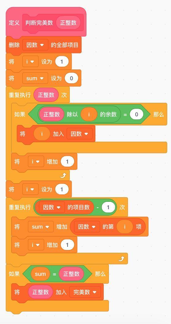 跟我一起学编程—《Scratch编程》第20课:查找完美数