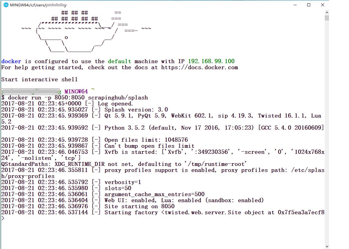Python网络爬虫实战之十四:Scrapy结合scrapy-splash爬取动态网页数据
