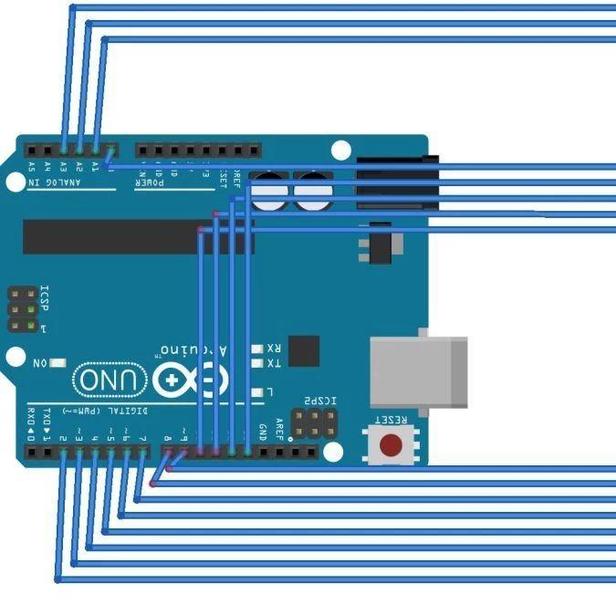 【Arduino编程】第二十五讲:8×8点阵实验