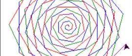 python少儿编程兴趣级——10、螺旋这么美再给它点颜色看看!