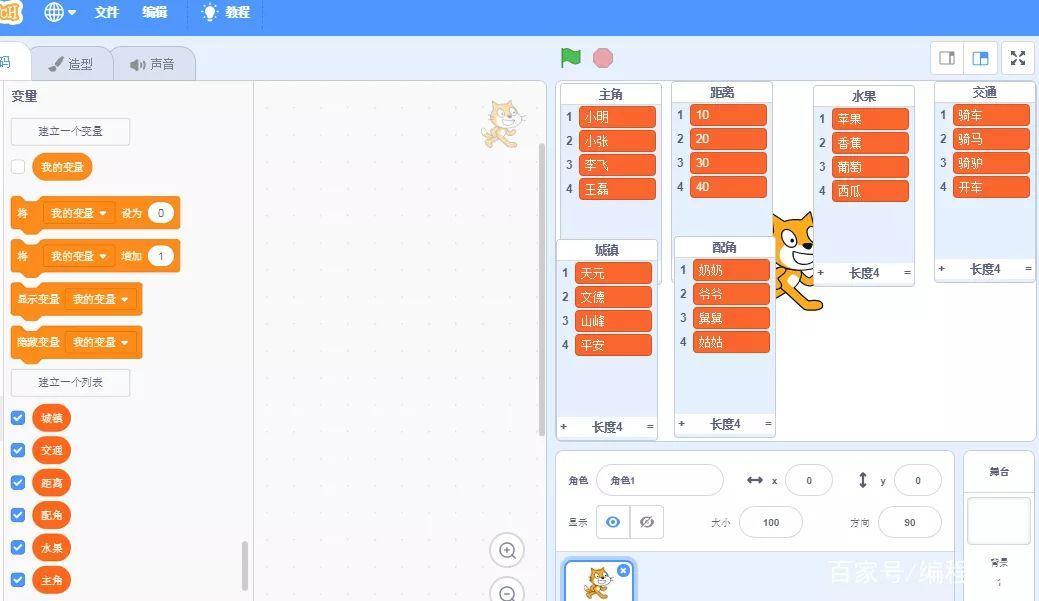 Scratch编程实现智能自动创作写小说,自动生成文章,自动写材料