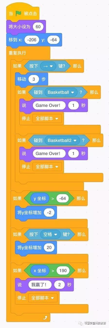 跟我一起学编程—《Scratch3.0编程》第27课:跨栏比赛