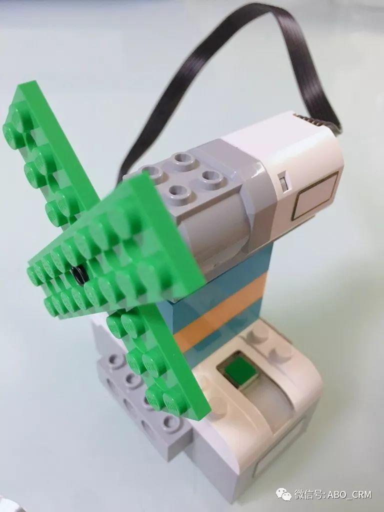 幼儿编程Scratch第29讲:大风车-乐高入门机器人-WeDo