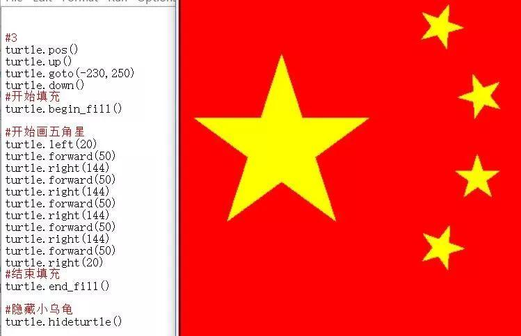 python少儿编程兴趣级——18、填充就像做人要做到有始有终。