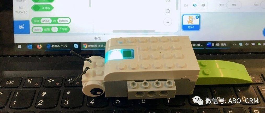 幼儿编程Scratch第28讲:毛毛虫在睡觉-乐高入门机器人-WeDo