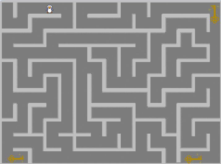 少儿编程|scratch初级游戏--迷宫探险