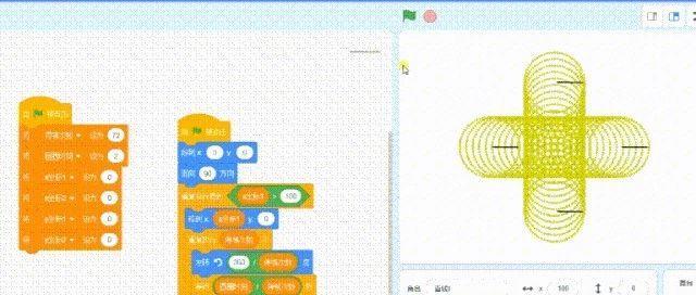 Scratch实例-圆形绘图