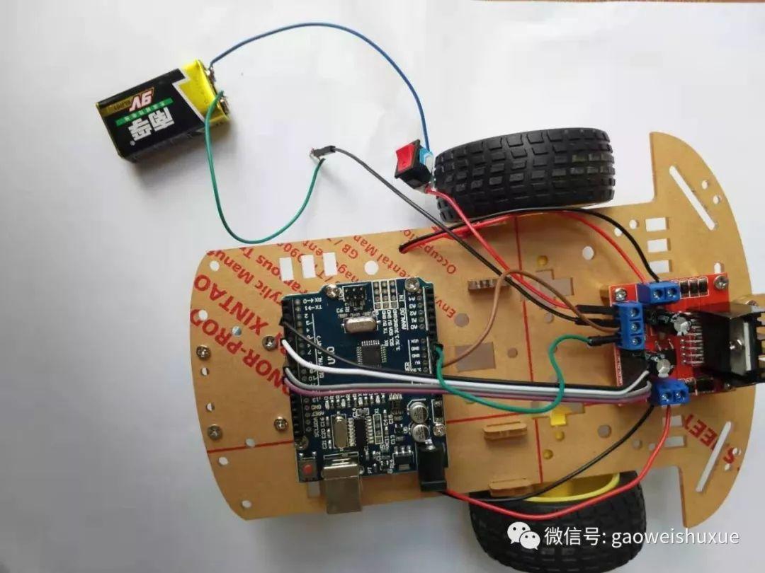 arduino智能小车项目——02、初级班硬件安装详解教程