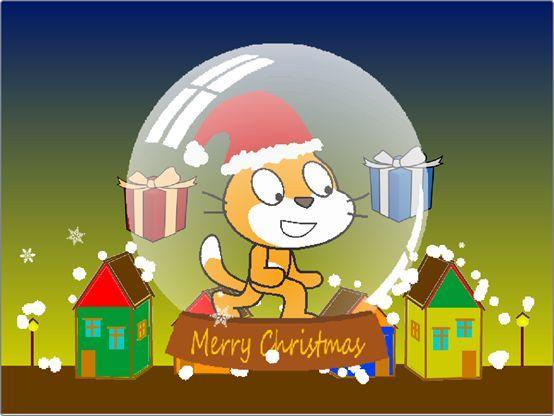 跟我学Scratch编程:白色圣诞节(十四)