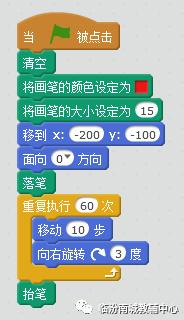 少儿创意编程(特26)用scratch画彩虹的四种方法