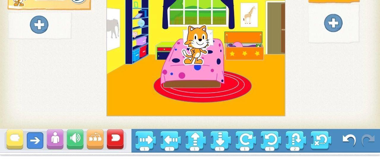 儿童编程:ScratchJr之小场景-起床咯