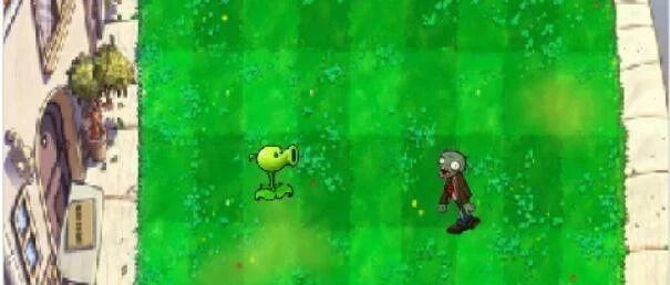 植物大战僵尸01、搭建约架之碰撞检测和克隆