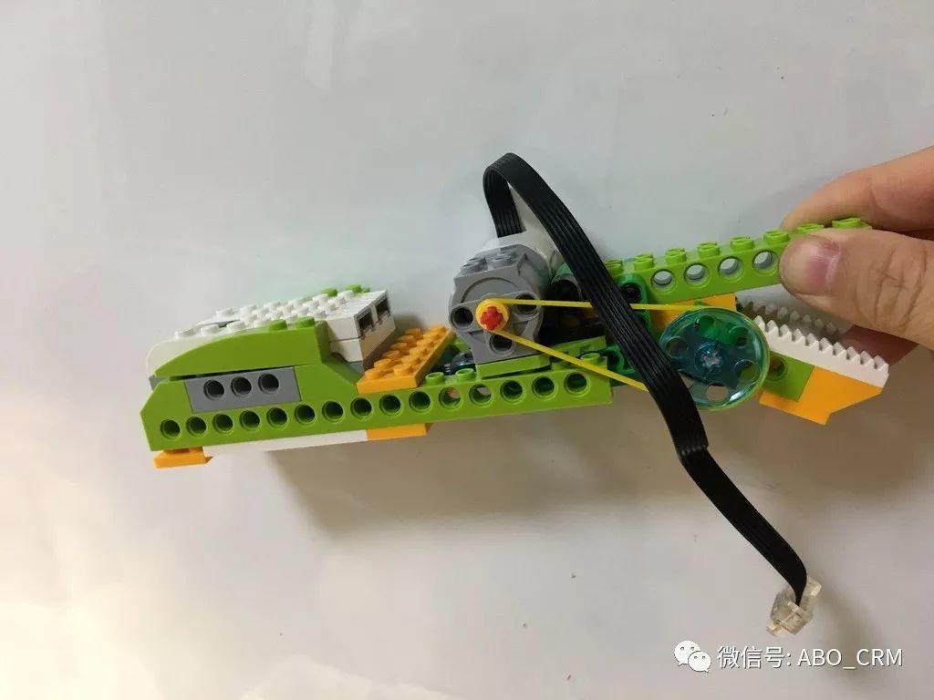 幼儿编程Scratch第33讲:机械手-乐高入门机器人-WeDo