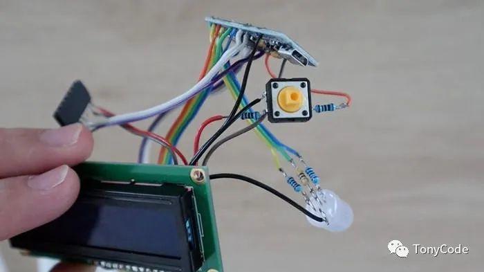 Arduino拾色器