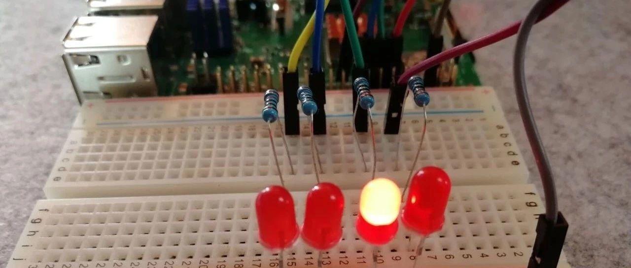 树莓派笔记08—Python流水灯