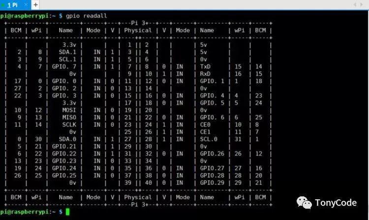 树莓派笔记06—树莓派GPIO介绍和wiringPi库安装