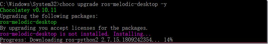 ROS探索总结(五十五)—— Windows版ROS安装试用