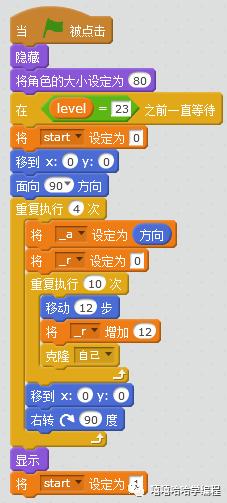 用scratch制作<最难小游戏>(二十三)