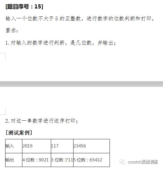 少儿创意编程(特68)19NOC创新编程赛复赛真题(二)