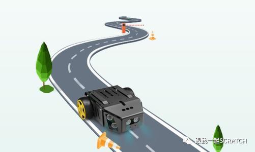 第三一五课 软件模拟小车巡线的学习思路