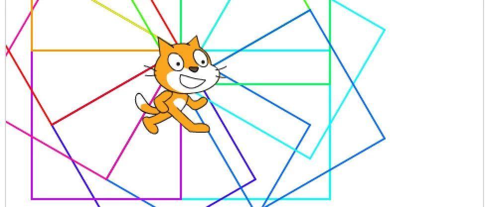大猫画正常小猫画出错是咋回事?——记一次 Scratch